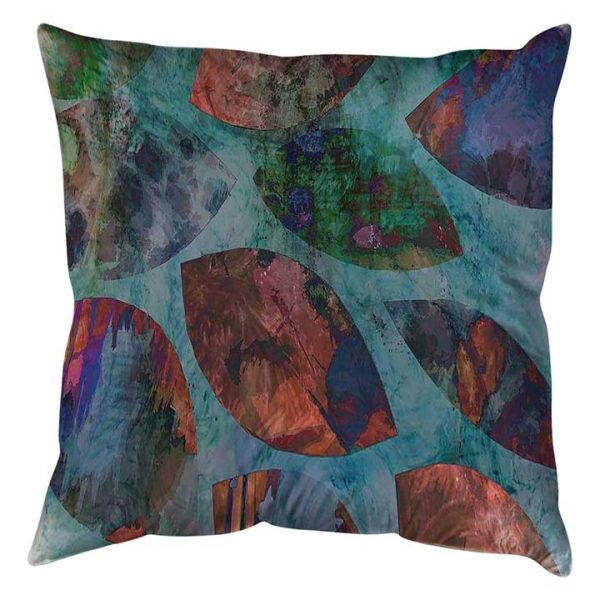 Leaves with Colours Cushion
