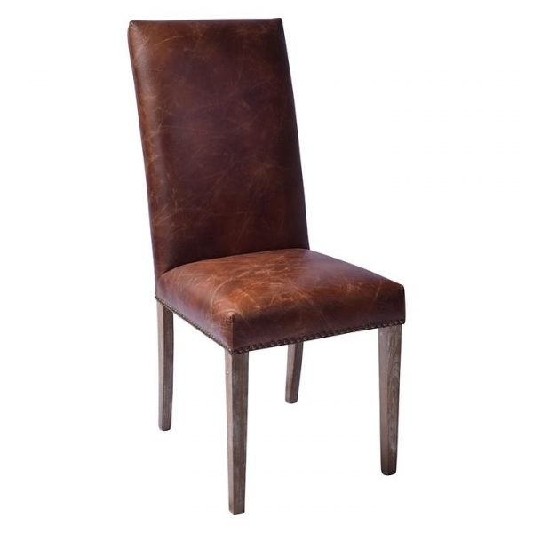 Lloyd Leather Dining Chair (Set of 2)