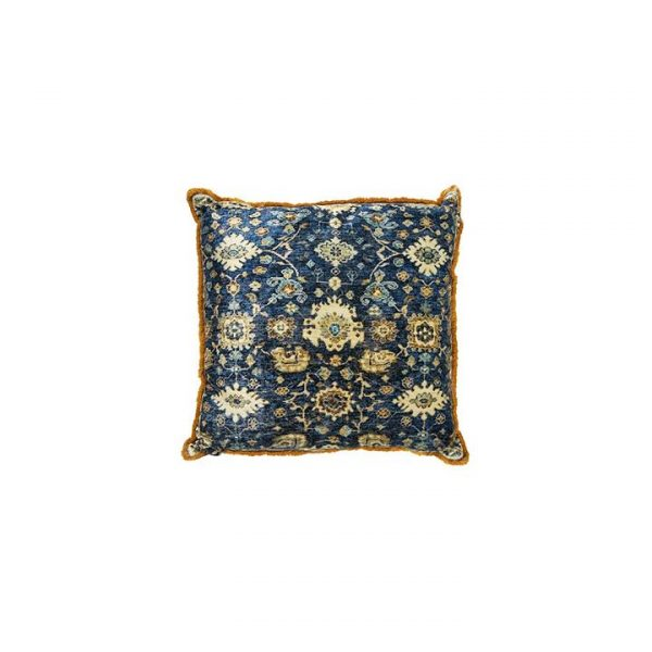 Loco Velvet Cushion Multicolour