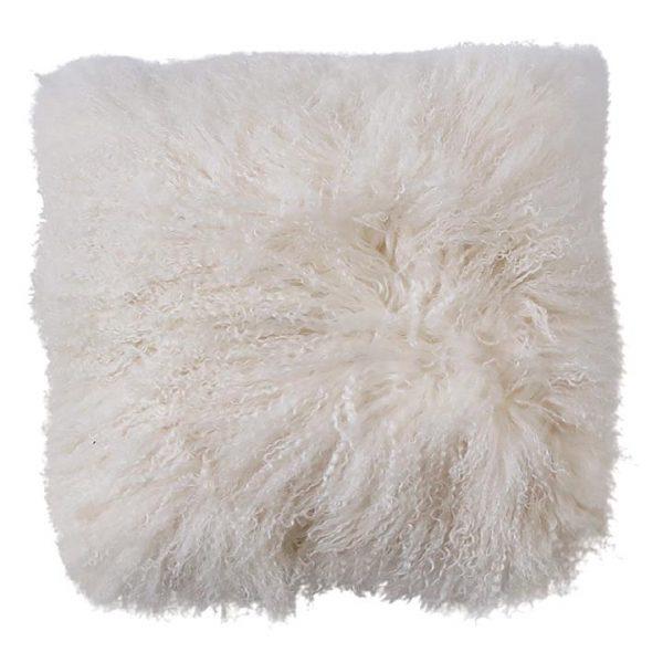 Luxe Mongolian Sheepskin Cushion