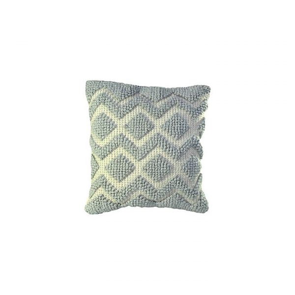 Malviya Woven Diamond Cushion