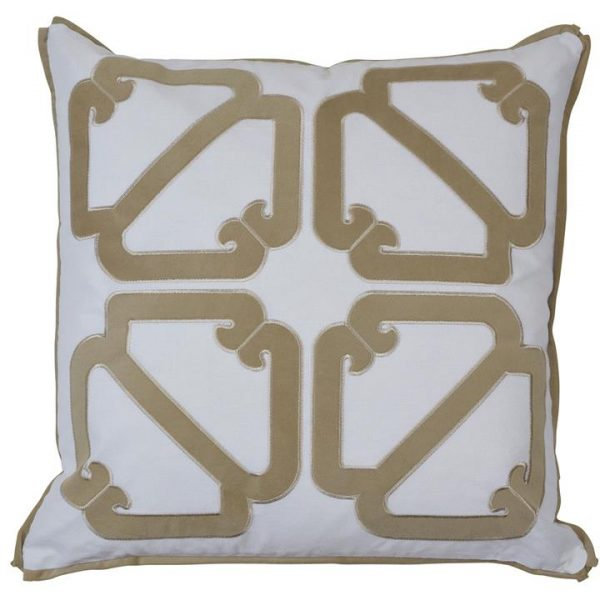Manly Cotton Scatter Cushion Cover, Sand