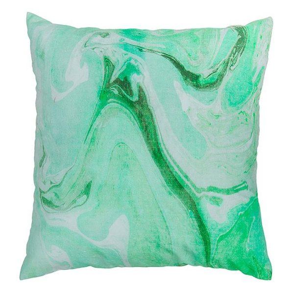 Marble Cushion, Green