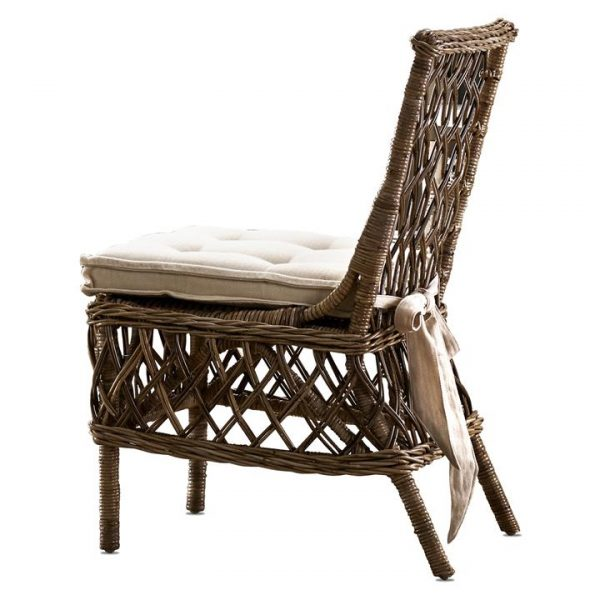 Marquis Kubu Rattan Dining Chair, Set of 2
