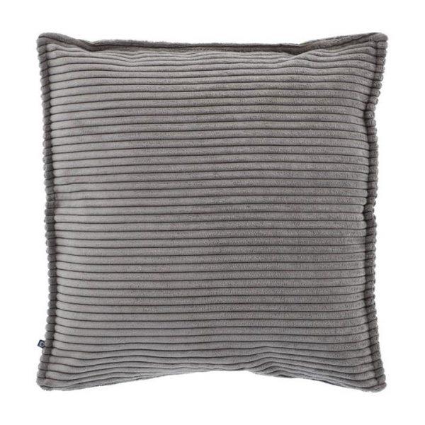 Melrose Corduroy Fabric Scatter Cushion, Dark Grey