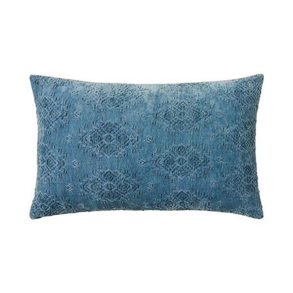 Mercer + Reid Marais Cushion Blue Mist - Bluemist By Adairs