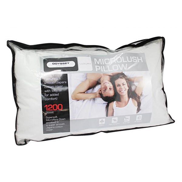 Microlush Pillow, 1200gms