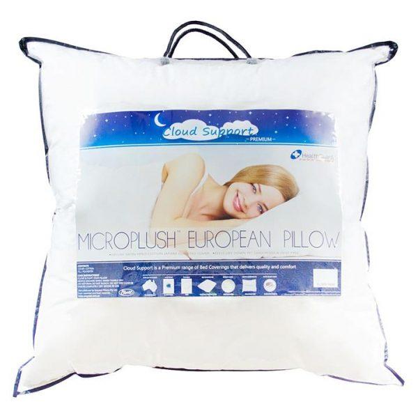 Microplush European Pillow