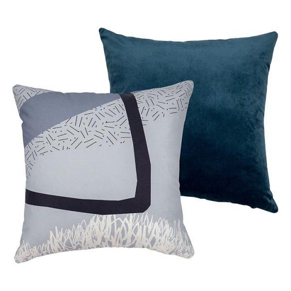 Misty Harbour Cushion