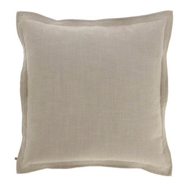 Moana Fabric Euro Cushion, Beige