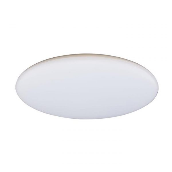 Mondo IP44 Indoor / Outdoor Slimline LED Oyster Light, 5000K, 40cm