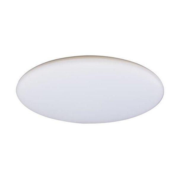 Mondo IP44 Indoor / Outdoor Slimline LED Oyster Light, Tricolour, 40cm