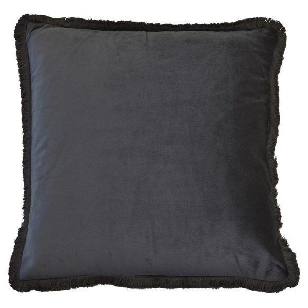 Mornington Velvet Scatter Cushion Cover, Black