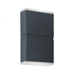 Nariko IP54 Outdoor LED Up / Down Wall Light