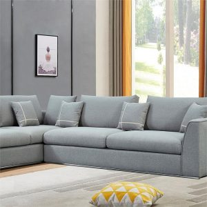Nova Fabric 2 Seater Left Chaise Modular Lounge