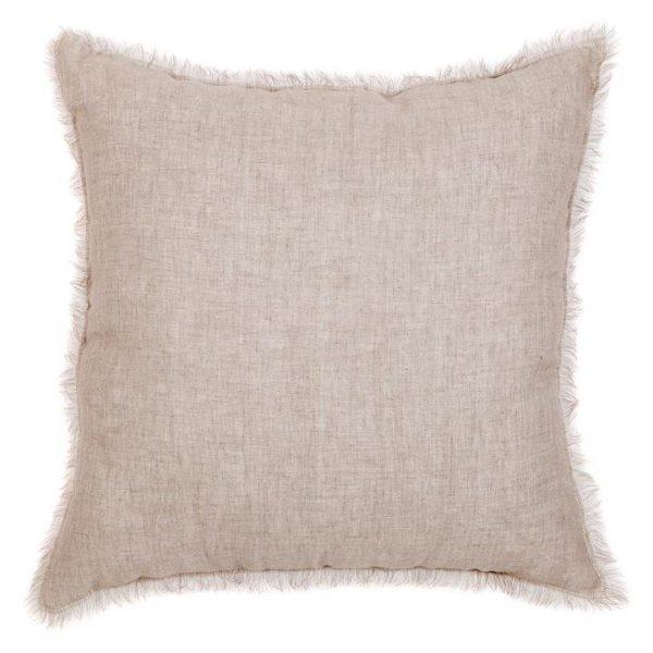 Palamara European Linen Fringe Cushion