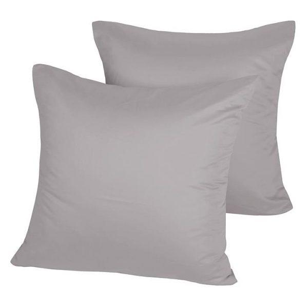 Plain Dyed 1000TC European Pillow Case (Set of 2)