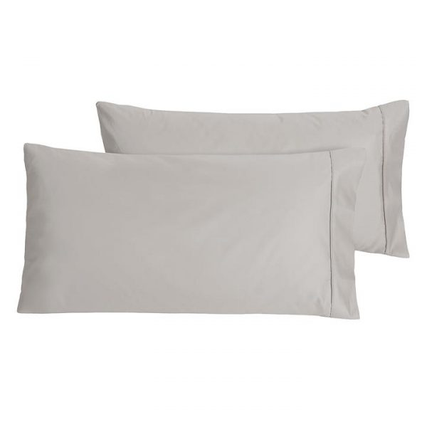 Plain Dyed 1000TC King Pillow Case (Set of 2)