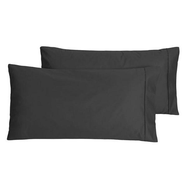 Plain Dyed 500TC King Pillow Case (Set of 2)
