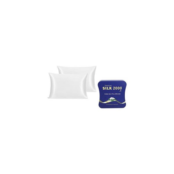 Pure Mulberry Silk Pillow Case (Set of 2)