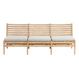 Ralat Outdoor Timber 3 Seater Sofa