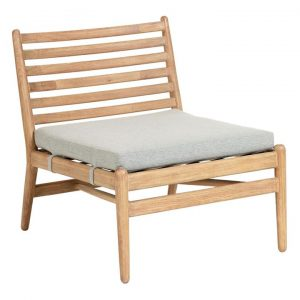 Ralat Outdoor Timber Lounge Chair