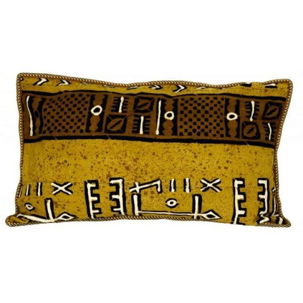 Renato Cotton and Wool Lumbar Cushion