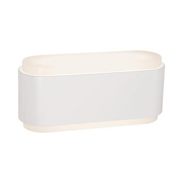 Sabina IP54 Outdoor Up / Down Wall Light, White