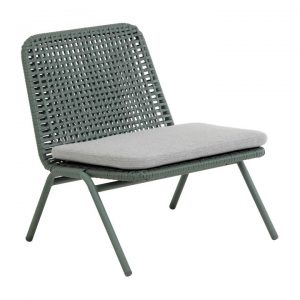 Salee Poly Rattan & Metal Indoor / Outdoor Lounge Chair