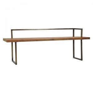 Santiago Dining Bench with Back