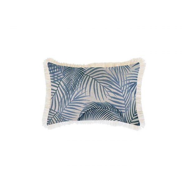 Seminyak Breakfast Cushion Cover, Fringe