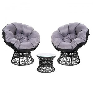 Sighi Outdoor Armchair & Side Table Set