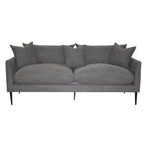 Sion Cotton Canvas Sofa, 3 Seater