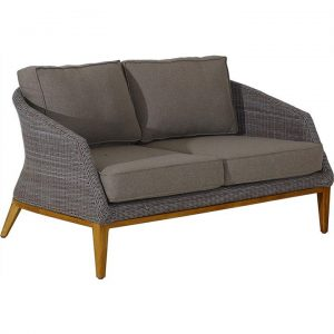 Sofia Wicker Indoor/Outdoor 2 Seater Sofa