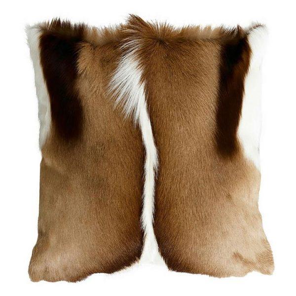 Springbok Cushion, Natural