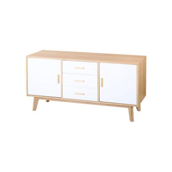 Stanmore Wooden 2 Door 3 Drawer Buffet Table, 160cm