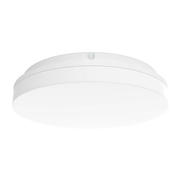 Sunset IP54 Indoor / Outdoor Tricolour Switchable LED Oyster Light, Round, 30cm