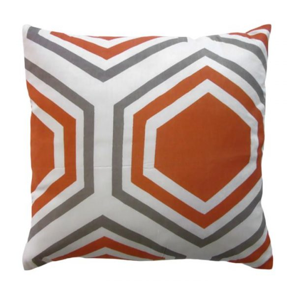 Sweden Honeycomb Cotton Scatter Cushion, Apricot