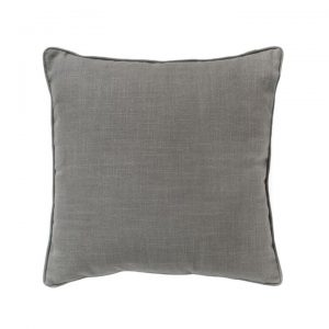 Textured Piped Scatter Cushion, Grey