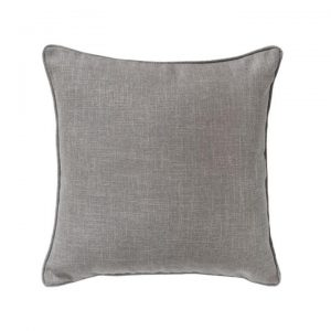 Textured Piped Scatter Cushion, Heather