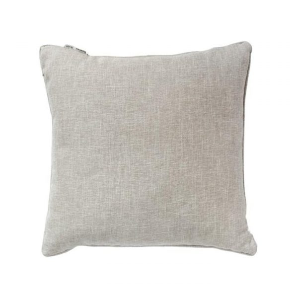 Textured Piped Scatter Cushion, Natural