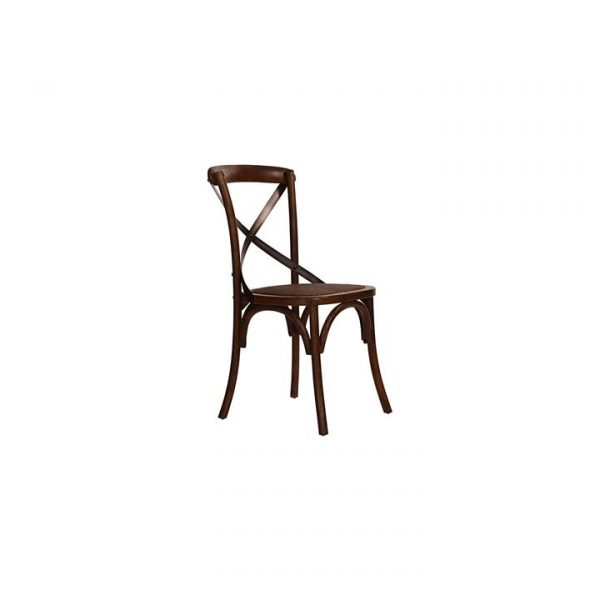 Timber Cross Back Dining Chair