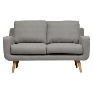 Tomas 2 Seater Sofa, Light Grey