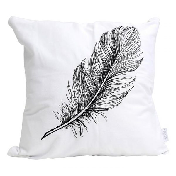 Tranquil Embroidered Cushion