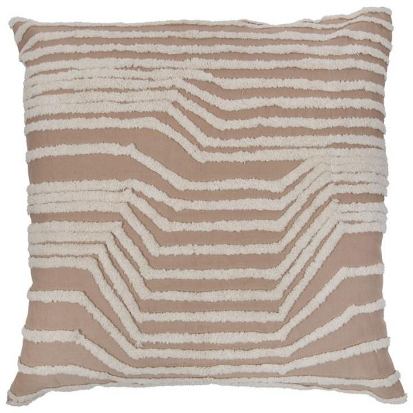 Vargas Linen & Cotton Cushion, Pink