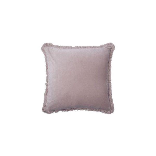 Velvet Fringe Cushion