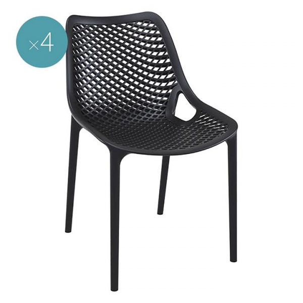 Wayna Outdoor Dining Chair (Set of 4)