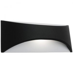 Wells IP65 LED Indoout/Outdoor Wall Light, Small, Black
