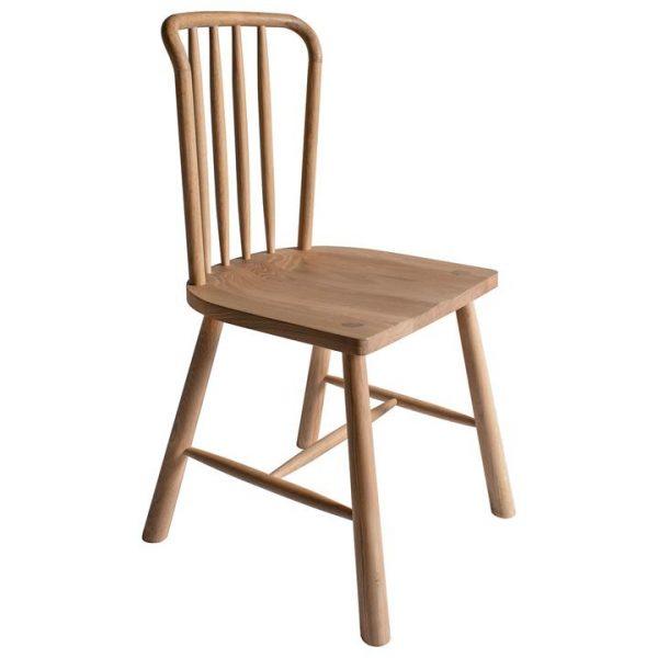 Willem Oak Timber Dining Chair, Set of 2, Natural