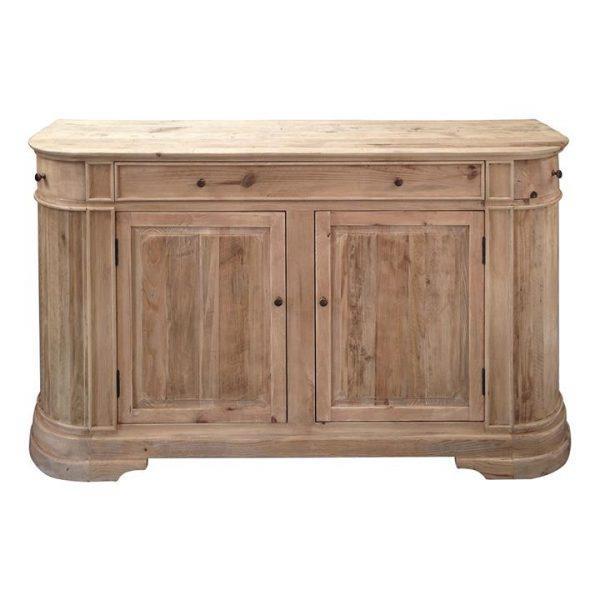 William John Recycled Timber 2 Door 3 Drawer Sideboard, 165cm, Natural